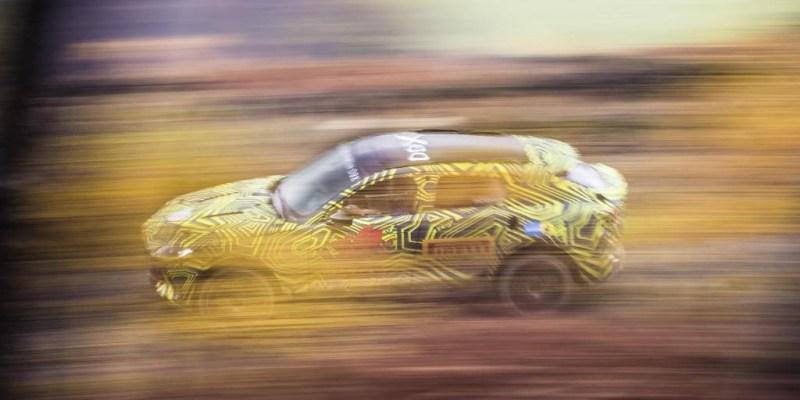 Aston Martin Pamer DBX SUV di Goodwood 2019