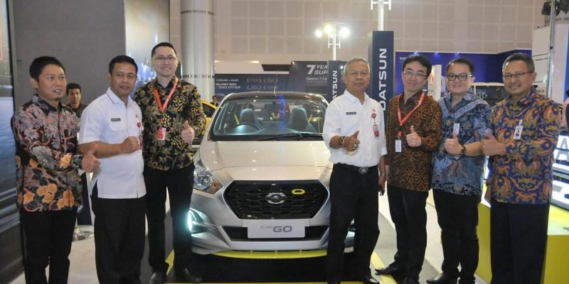 Jajaran Mobil Datsun di IIMS Surabaya