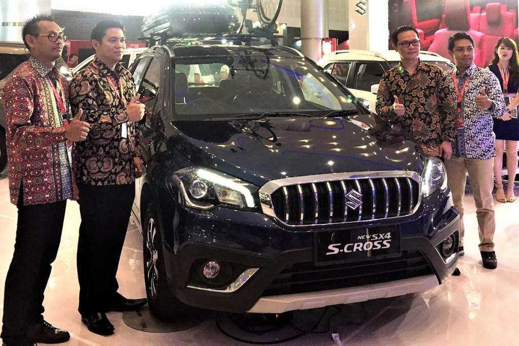 PT SIS Usung 'Suzuki Sport' di IIMS Surabaya 2018