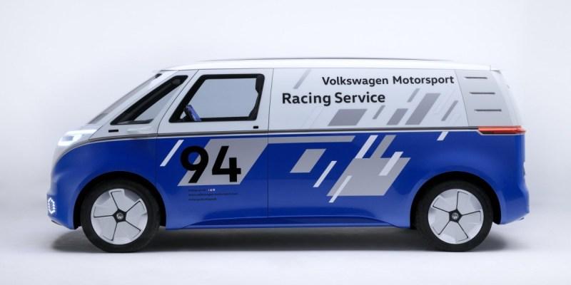 Volkswagen I.D. BUZZ CARGO concept, Gaya Balap!