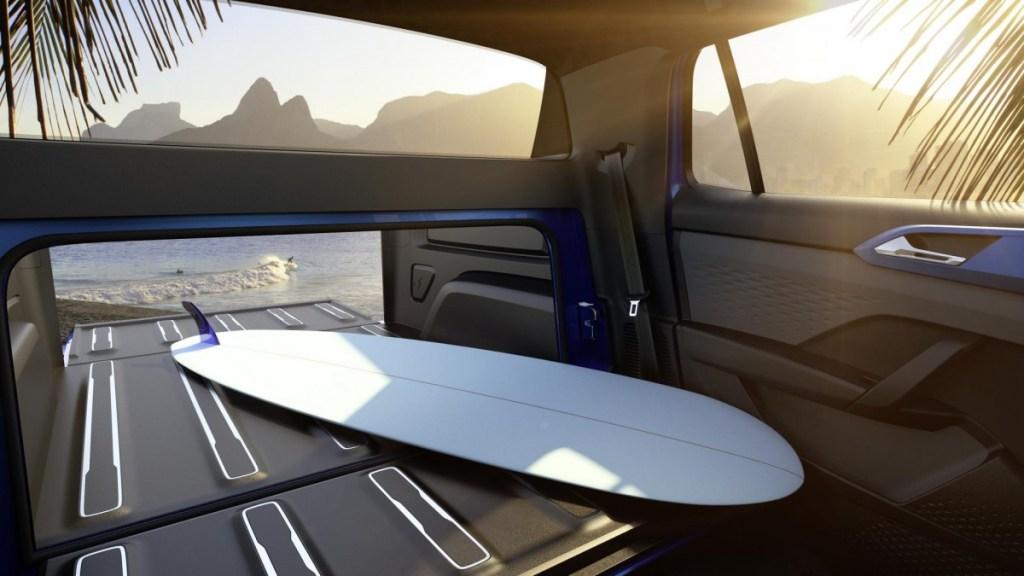 Volkswagen Tarok Concept, Double Cabin Senyaman SUV