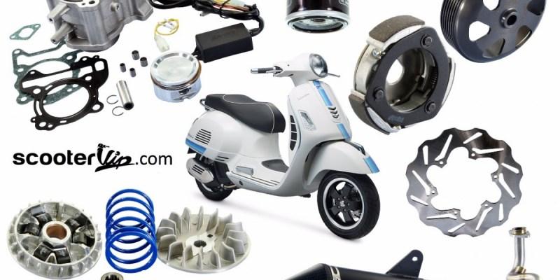 Scooter VIP Hadirkan Produk Terbaru Polini dan Malossi