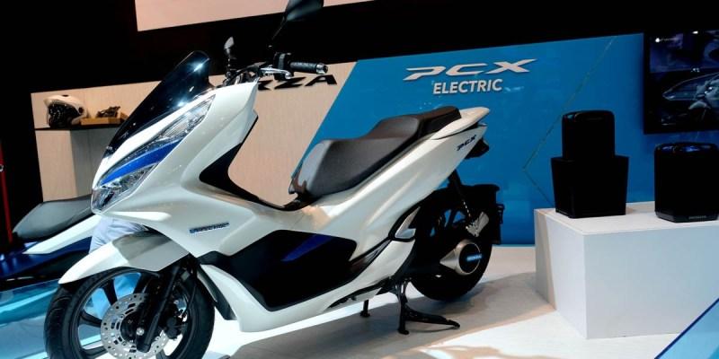 Honda PCX Electric Hadir di IMOS 2018