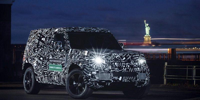 Land Rover Defender akan ke Amerika Tahun 2020