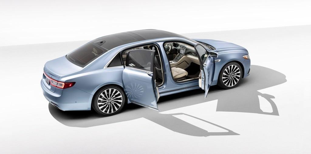 Lincoln Continental 80th Anniversary Coach Door Edition, Minat?