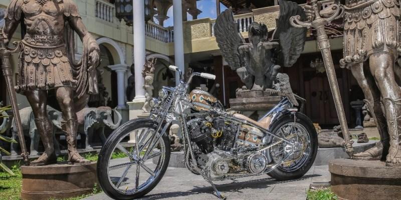 Motor Kustom Asal Yogyakarta Ini Mejeng di Ajang Custom Dunia