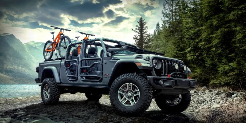 Jeep Gladiator Didandani Habis Mopar