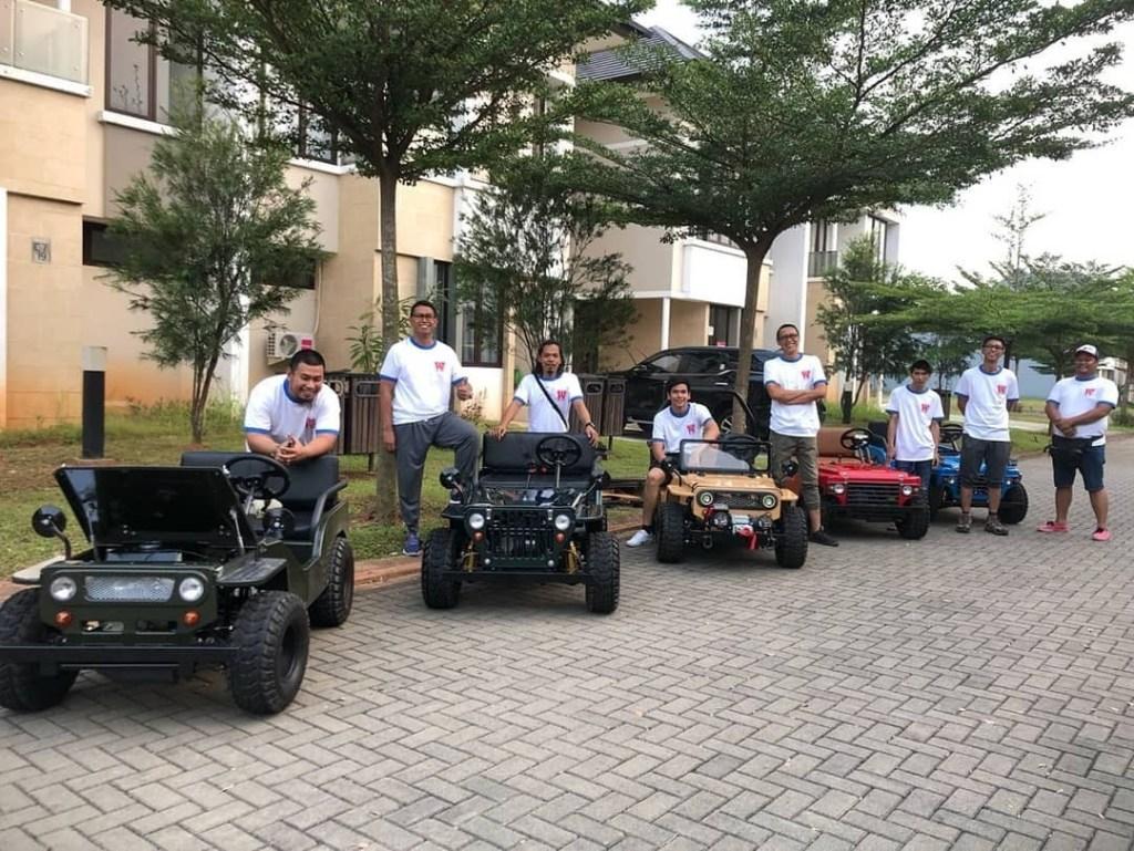 Geliat Hobi Mini Jeep di Kalangan Otomotif Indonesia