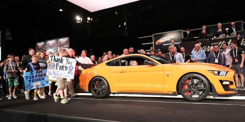 Ford Shelby GT500 2020 Produksi Pertama Terjual Rp 15 Miliar