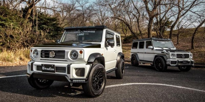 Suzuki Jimny G-Class, Modifikasi Apik Garapan Liberty Walks