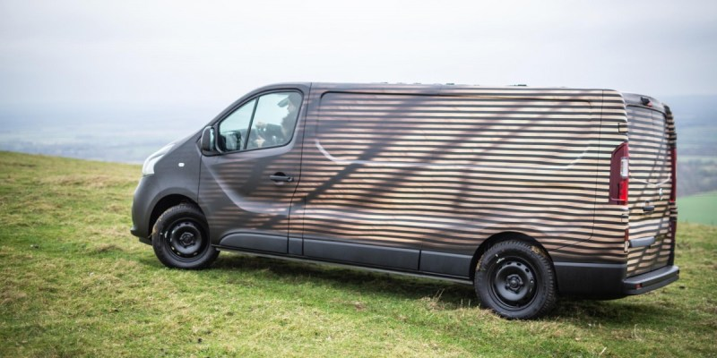 All New Nissan NV300 Concept, Inspirasi Seniman Kayu