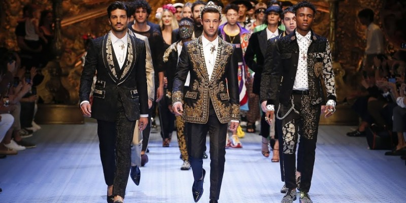 DOLCE & GABBANA Spring Summer 2019 Men's Fashion Show