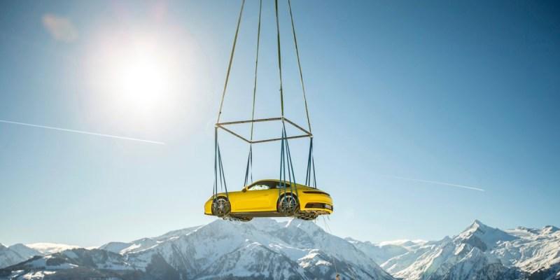 Porsche 911 Terbang Ke Puncak Alpen