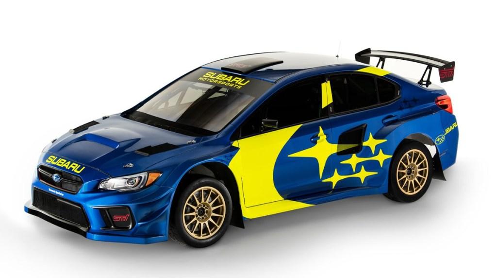 Subaru Pakai Lagi Jubah Legendaris Reli