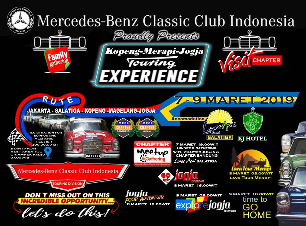 'Touring Experience', MCCI Bersiap Menuju Yogyakarta