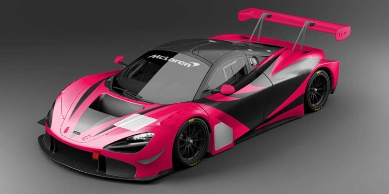 Mau Apa McLaren 720S GT3 Berwarna Genit ini?