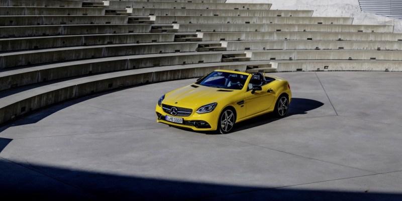 Mercedes Benz SLC Final Edition, Ingatkan Generasi Awal