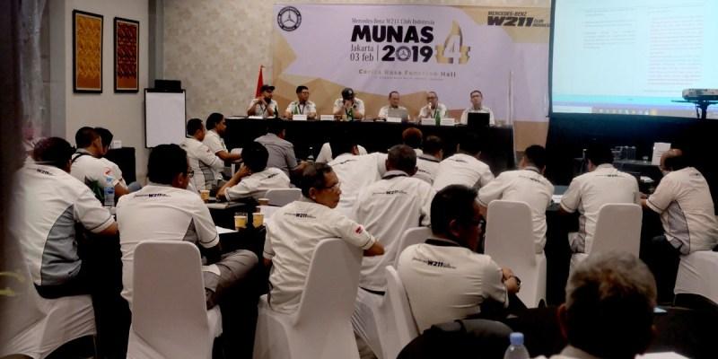Munas ke-4, MB W211 CI Pilih Presiden Periode 2019-2021