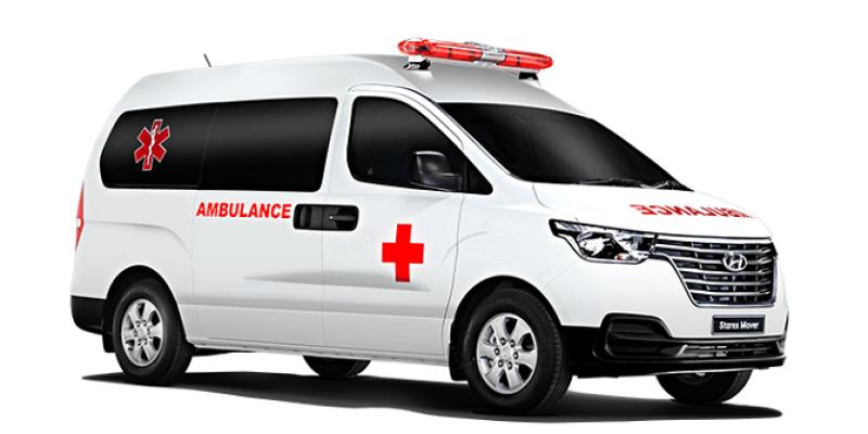 Inilah Tampang Keren Hyundai Starex Mover Jadi Ambulance