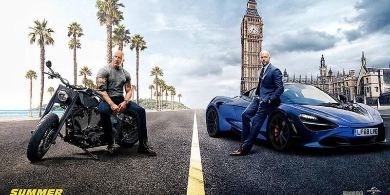 Hoobs & Shaw, Aksi Gila Shaw vs Hobbs Kendarai McLaren dan Truk