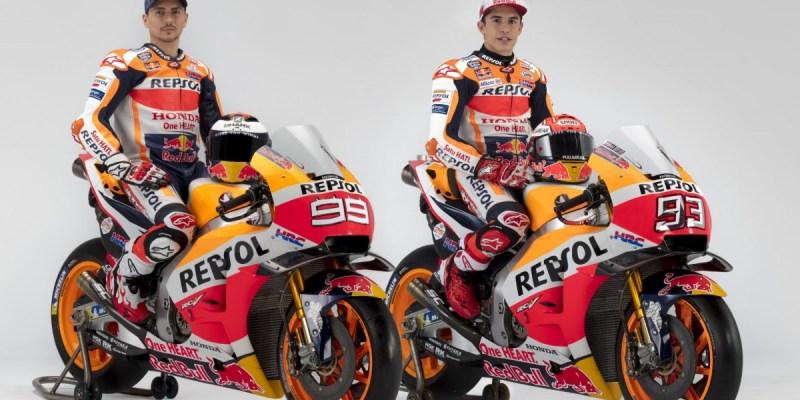 Inilah Pose Keren Foto Lorenzo dan Marquez Jelang MotoGP 2019