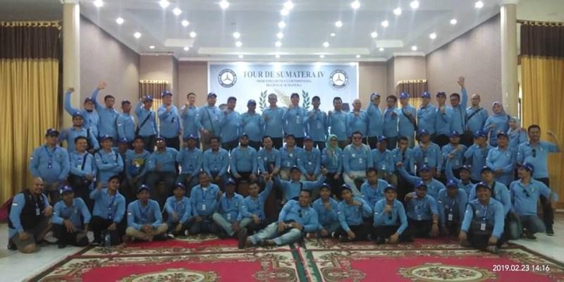 Tour De Sumatera IV, MTC Pekanbaru Perkenalkan Budaya Melayu