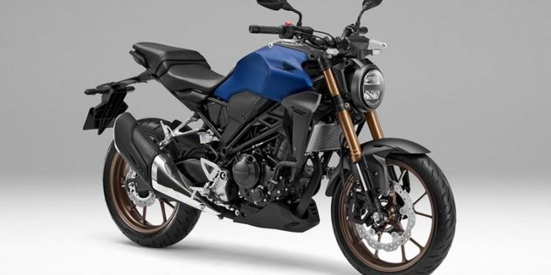 Honda CB250R Neo Sport Cafe 2019, Warna Biru Doff Lebih Gahar!