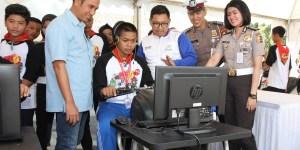 Safety Riding Camp Honda Tebarkan Hal Positif untuk Generasi Muda