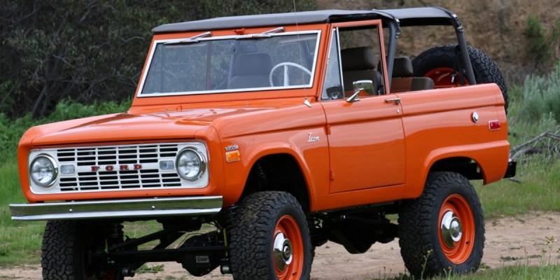 Ford Bronco 1966 Klasik Ini Dijual