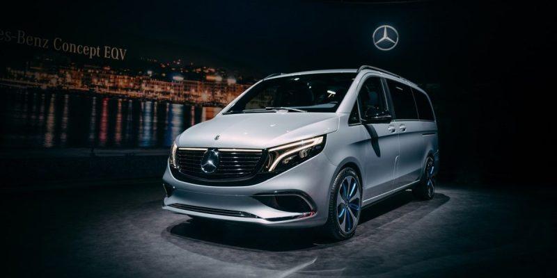 Mercedes-Benz Concept EQV, MPV Listrik 400 Km