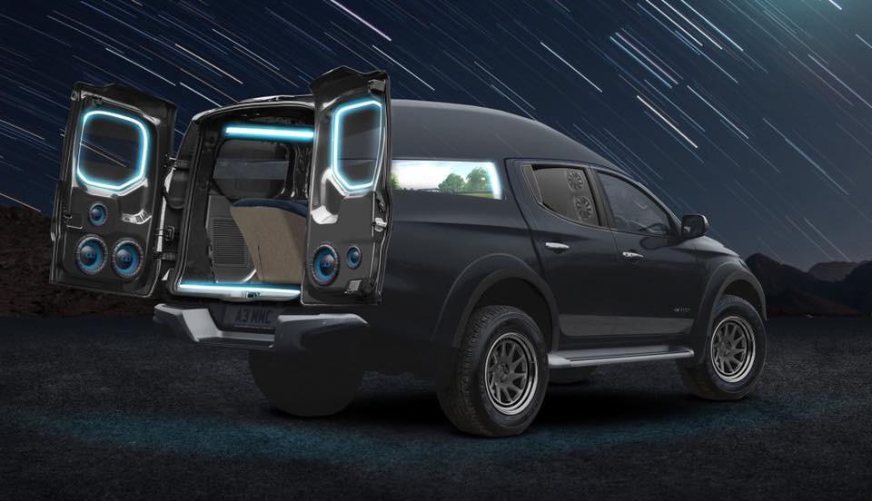 Mitsubishi L200 'eSports Concept', Tunggu di CV Show 2019
