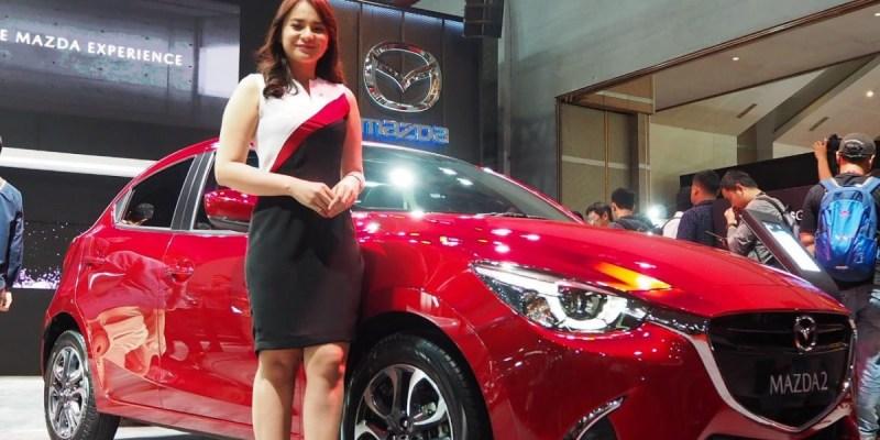 Mazda Berikan Diskon Menarik Di Telkomsel IIMS 2019