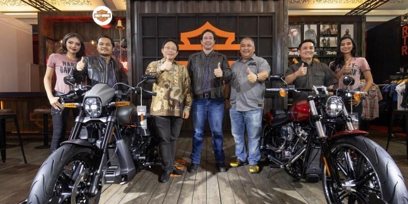 Harley-Davidson FXDR 114 dan Iron 1200 Tampil di IIMS 2019
