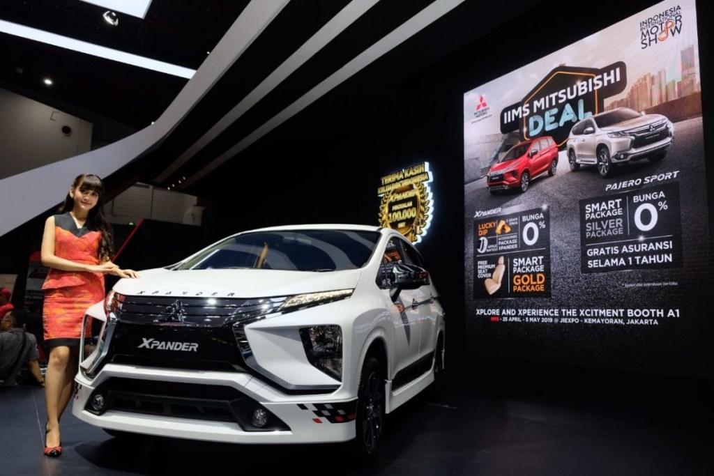 Gak Nyesel ke Booth Mitsubishi di IIMS 2019