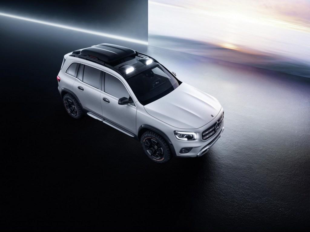 Mercedes-Benz Concept GLB, Muat 7 Penumpang