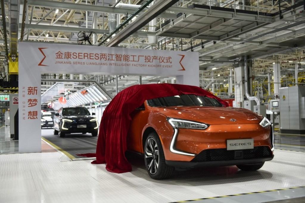 Mobil Listrik China, Seres SF5 Tekuk Tesla