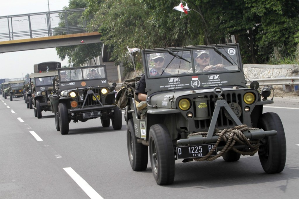 Willys Owners Indonesia, 'Carita Charity Gathering 2019'