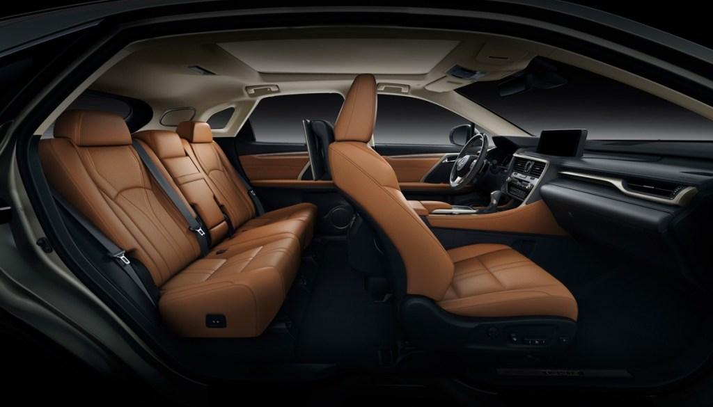 Lexus RX Terbaru Kian Nyamankan Kabin
