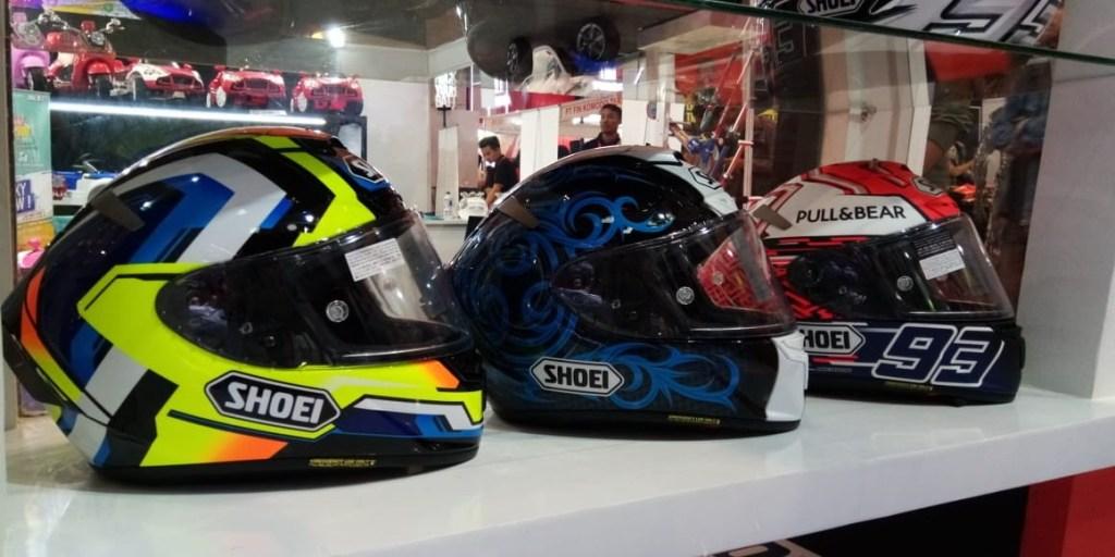 Shoei Helmets Sudah SNI, Hadir di Telkomsel IIMS 2019
