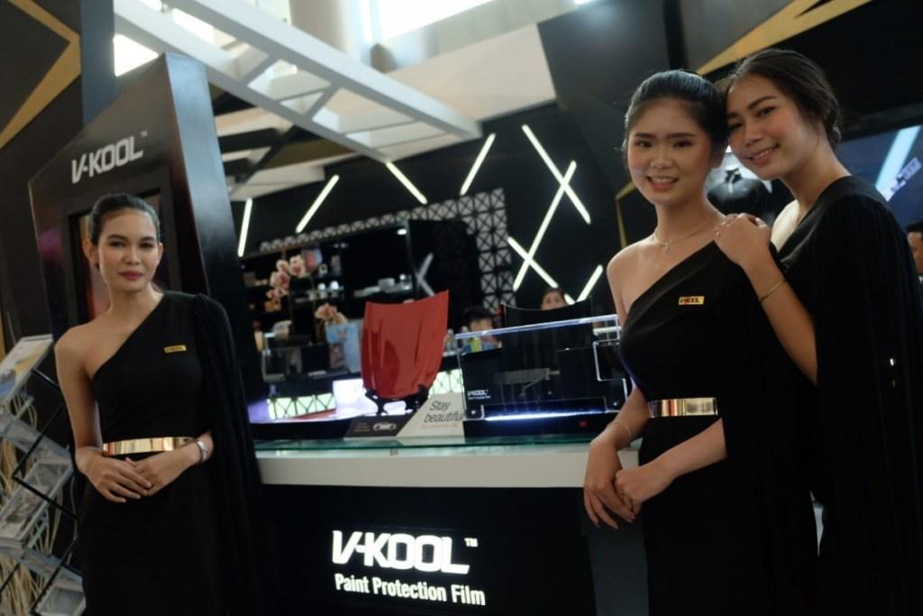 Kaca Film V-Kool Buktikan Kualitasnya di Telkomsel IIMS 2019