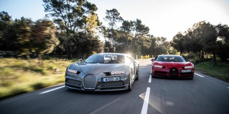 Ini Cara Menikmati Bugatti Chiron dan Chiron Sport