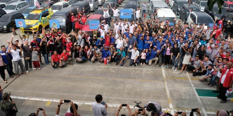 'Daihatsu Sahabat Mudik', PT ADM Libatkan 13 Klub Mobil