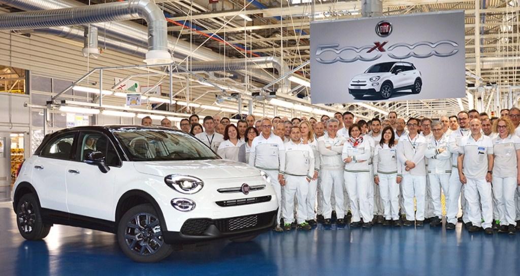 "Fiat 500X ""120th"" Special Edition Penanda Produksi 500.000"