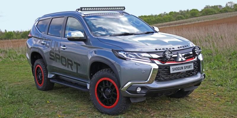 Mitsubishi Outlander Shogun Sport SVP Concept
