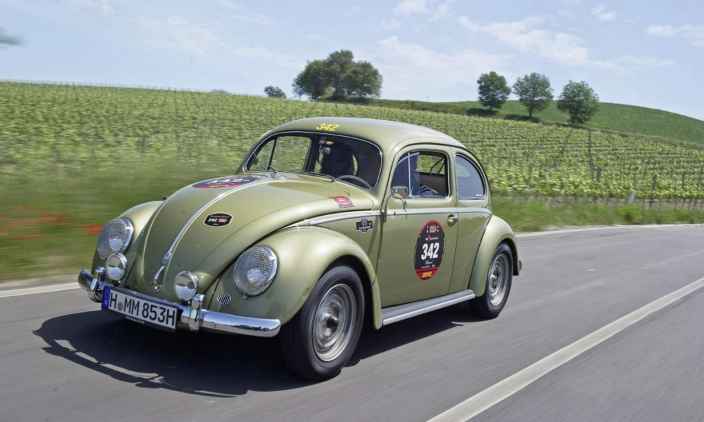 VW Beetle Bernyawa Porsche Ikutan 1000 Miglia