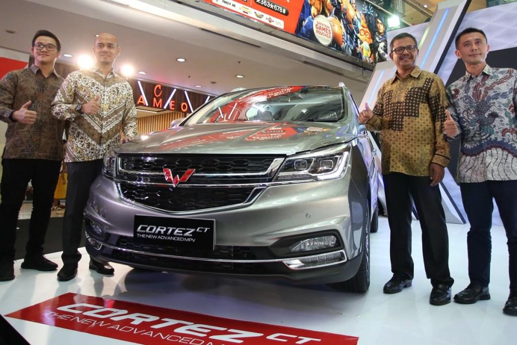 Perluas Pasar, Wuling Perkenalkan Cortez CT di Medan