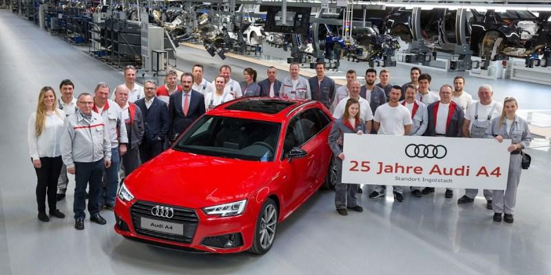 Perayaan 25 tahun Audi A4, Laris 7,5 Juta Unit