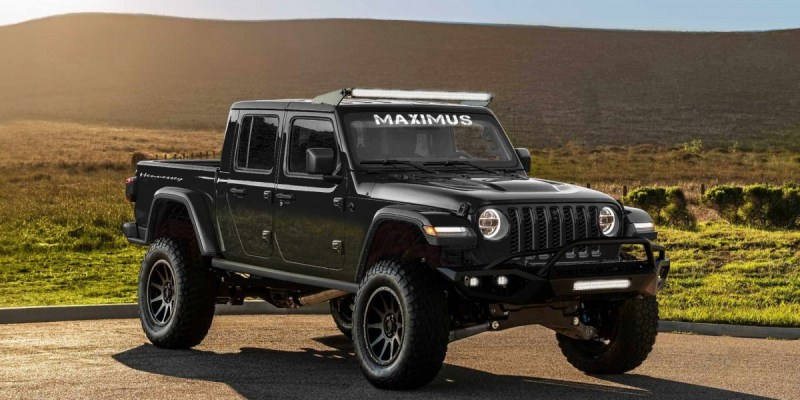 Hennessey Performance Bikin Jeep Gladiator 1000 HP!