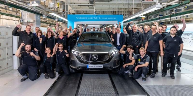 Mulai Produksi, Segini Harga Mercedes-Benz EQC