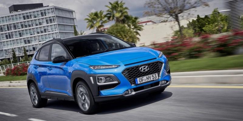All New Hyundai Kona Hybrid, Lebih Efisien